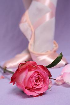 Free Ballet Shoe Stock Photo - 6171020