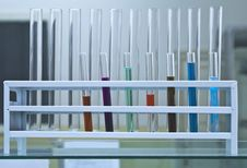 Free Test Tubes Rack Stock Photography - 6172172