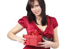 Free Portrait Of Beautiful Brunette Woman Royalty Free Stock Photography - 6172657