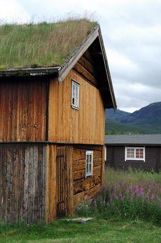 Free Old Norwegian Houses Stock Image - 6172891