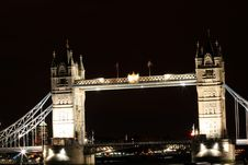 Free Tower Bridge. Stock Images - 6172944