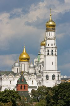 Free Church In Moscow Kremlin. Royalty Free Stock Photo - 6173265