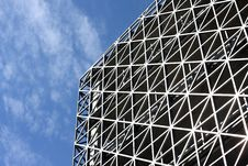 Free Abstract Metallic Building And Blue Sky Stock Photos - 6173663