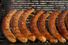 Free Sausages Royalty Free Stock Photography - 6174127