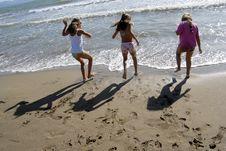 Free Fun On The Beach Stock Photography - 6174242