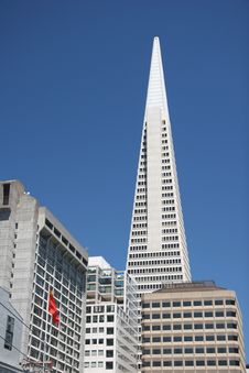 Free Transamerica Pyramid Royalty Free Stock Photo - 6174465