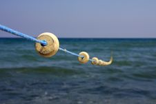 Free Buoys Floats On The Rope. Royalty Free Stock Image - 6174606