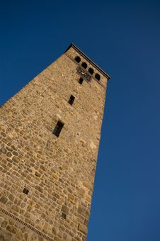 Free Church Tower Royalty Free Stock Photo - 6174695