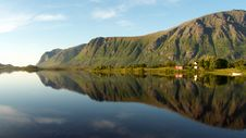 Free Lofoten S Cape Mirroring Stock Photos - 6176203