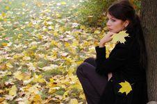 Free Autumn Girl Stock Photos - 6176543