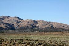 Free Nevada Hillside Royalty Free Stock Photos - 6176688