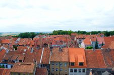 Panorama Of Old City Stock Photography