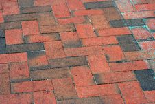 Free Brick Pavement Royalty Free Stock Photo - 6176975