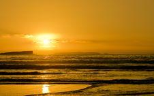 Free Coastal Sunset Stock Photo - 6177120