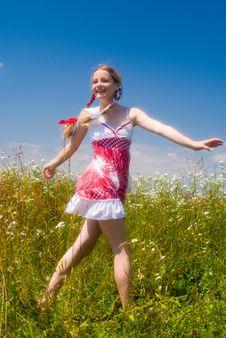 Free Enjoing Summertime Stock Image - 6177191
