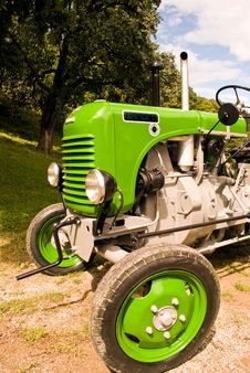 Free Tractor Stock Photo - 6177520