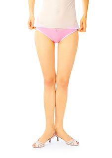 Free Girl In Pink Panties Royalty Free Stock Photography - 6178057