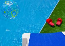 Free By The Pool Stock Photo - 6178100