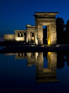 Free Debod S Temple In Madrid Stock Images - 6178384
