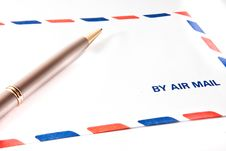 Free By Air Mail Stock Images - 6179054