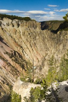 Free Grand Canyon In Yellowstone Stock Image - 6179461