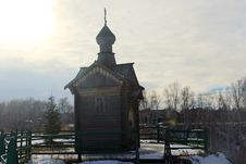 Free Wooden Chapel Royalty Free Stock Image - 61711926