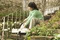 Free Woman Sawing Board - Horizontal Stock Photography - 6180922