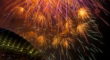 Free Fireworks Over Esplanade Stock Photo - 6180260