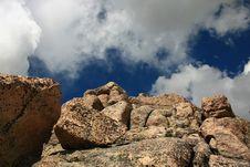 Granite Rock Formation Stock Image