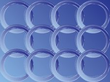 Free Blue Rings Stock Photo - 6180410