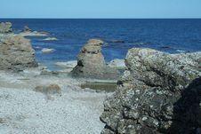 Free Seashore, Sweden Royalty Free Stock Photos - 6180568