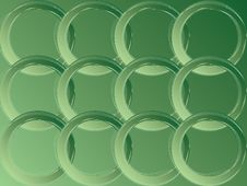 Free Green Rings Royalty Free Stock Image - 6180676
