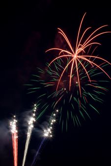 Free Fireworks Royalty Free Stock Photography - 6181817