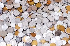 Free Macro Of RMB Coins Stock Photography - 6181882