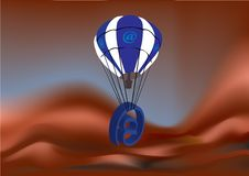 Free E-mail Air-balloon Stock Photo - 6182660