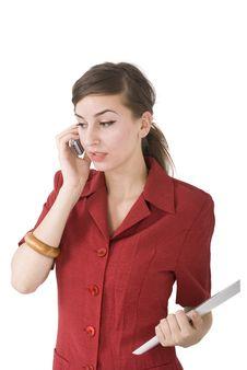 Free Woman Talk Stock Image - 6182841