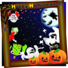 Halloween Background Vector Royalty Free Stock Images