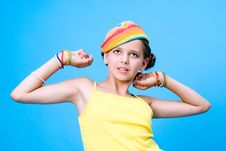 Free Awakening Girl Royalty Free Stock Photography - 6183467