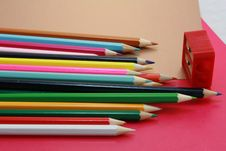 Free Crayons And Steel Royalty Free Stock Photography - 6183477