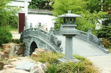 Bridge At Oriental Garden