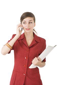 Free Woman Talk Stock Image - 6184411