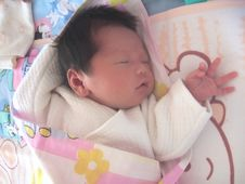 Free Sleeping Baby Royalty Free Stock Photos - 6184718