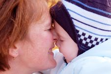 Free Family Moments - Mother And Baby Have A Fun Stock Photos - 6184753