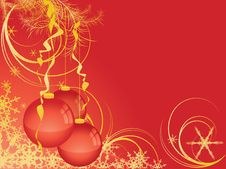 Free Vector Christmas Background Royalty Free Stock Photo - 6184765