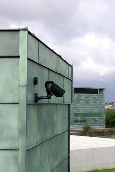 Free Surveillance Camera Royalty Free Stock Images - 6185019