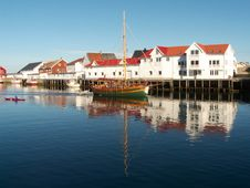 Free The Lofoten S Canal Grande Royalty Free Stock Photo - 6185375