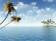 Free Small Island Stock Photography - 6186742