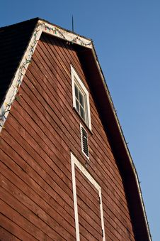 Big Barn Stock Images