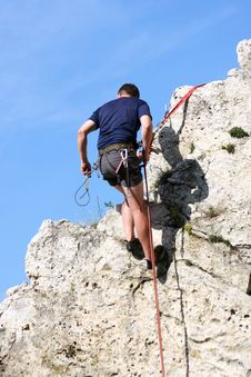 Free Climber Stock Photography - 6187312