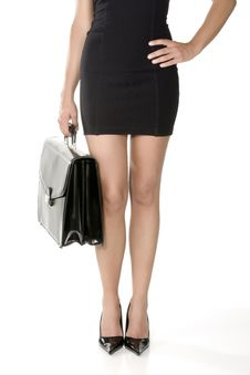 Free Long Legs Of Business Woman Stock Image - 6187441